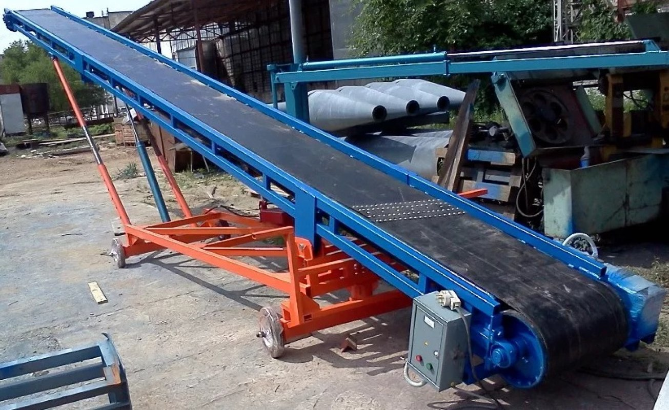 Ленточный транспортер челябинск натяжной узел конвейера